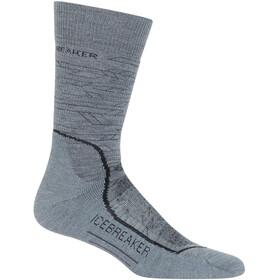 Icebreaker Hike Crew Lava Medium Socks Men Twister Heather/Black/Monsoon